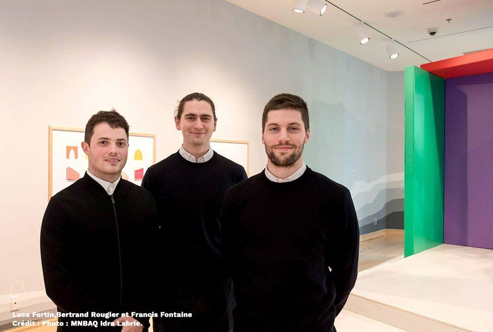 Luca Fortin, entre art et architecture: Ouverture de Murmures à la Galerie famille du MNBAQ
