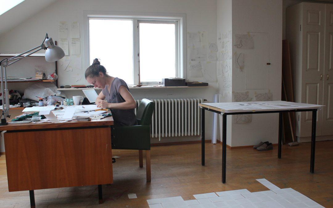 Émilie Bernard représentée par Galerie.a